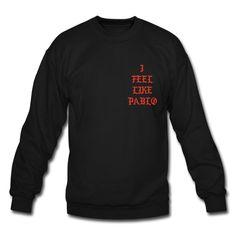 Yeezy Pablo Hoodies - Crewneck Sweatshirt