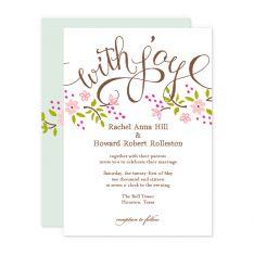 smittenonpaper.com cute wedding invite ideas
