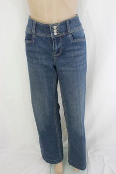White House Black Market Blue Denim Jean Pant Size 10 NWT