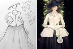 Outlander Exclusive: How This Dior-Inspired Dress Was Key to Unlocking Season Two's Time Travel | Vanity Fair