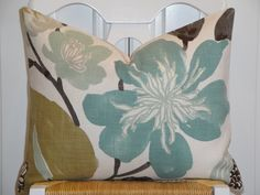 Decorative Pillow Cover 16 x 20 Throw by TurquoiseTumbleweed
