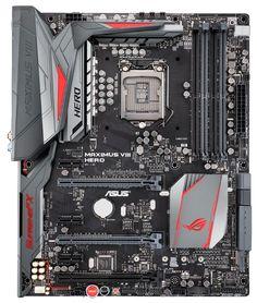 Материнская плата  Asus < MAXIMUS VIII HERO > LGA 1151 Intel Z170 4xDDR4 ATX AC`97 8ch(7.1) GbLAN RAID RAID1 RAID5 RAID10+HDMI