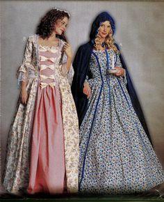 McCalls P249/249 Misses' Women's Colonial by DesignRewindFashions, $14.00