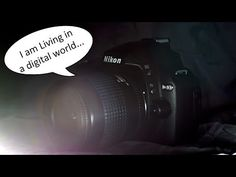 Introduction to the Nikon D40, Video 2 of 12 (SD Card and Battery) - YouTube