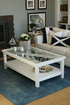 Ocean House sofabord Gavin - det imaritime bordet for hytta eller huset.