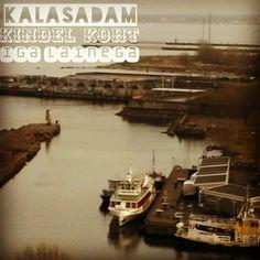 Siin sadamas ei loksu laev ühegi ilmaga ... Any storm safe marina #visittallinn #stormsafe by karzummik