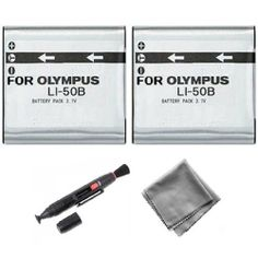 2-Pack LI-50B High-Capacity Replacement Battery for Olympus SP-720UZ SP-800UZ SP-810UZ - UltraPro BONUS INCLUDED: Deluxe MicroFiber Cleaning Cloth, Lens Cleaning Pen Reviews - http://slrscameras.everythingreviews.net/9052/2-pack-li-50b-high-capacity-replacement-battery-for-olympus-sp-720uz-sp-800uz-sp-810uz-ultrapro-bonus-included-deluxe-microfiber-cleaning-cloth-lens-cleaning-pen-reviews.html
