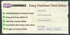 Woocommerce Easy Checkout Field Editor v1.3.5