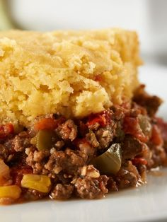 #Tamale #Pie - This is perfect #comfortfood for nights where you'd like a little South of the Border #flavor!