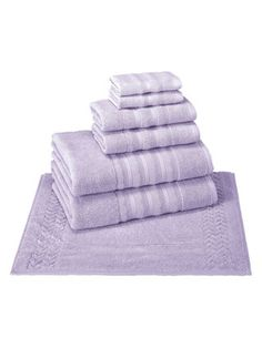 Allure Turkish Towel Set (6 PC) by Enchante Home at Gilt