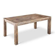 Braxton Rustic Hardwood Dining Table