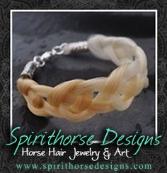 Amazing horsehair jewelry at Spirithorse Designs! | Velvet Rider