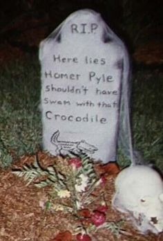 (2) What are some of the funniest epitaphs? - Quora