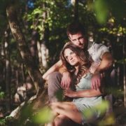 like the idea of going in the woods for a photo shoot...this could work for senior pics, family pics...or engagement.