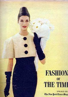 https://flic.kr/p/7JYnsT | N.Y.Times Fashion Magazine, March 1959 | Vintage fashion magazine from 1959