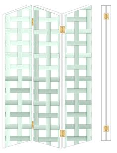Privacy screens are like folding sculptures, both visually interesting as well as functional. In an outside space, they are a buffer between you and the neighbors, or can block out the bright sun. Inside, they divide spaces, hide clutter, or even serve as a headboard. Making a custom screen is also (surpisingly!) a quick and easy DIY.