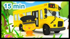 Les roues de l'autobus - 15 min de comptines - Méli et Touni - Titounis First Day Of School, Back To School, Alphabet, French Songs, French Resources, Weather And Climate, Music Ed, French Immersion, Songs