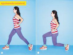 Para ajudar você a chegar em forma no verão, preparamos um treino de ginástica bem simples e divertido. Ele é composta de uma parte aeróbica e de uma parte localizada. Se você fizer pra valer, em d…