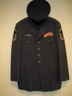 My dad's uniform
