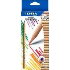 Lyra Osiris Pro Natura 12 darabos natúr háromszög alakú színes ceruza készlet Ft Ár 619