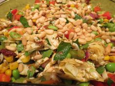Cabbage edamame salad from Gaia's Table, an upcoming Spiderhawk cookbook.
