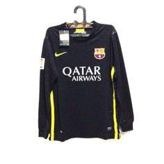 Jual Jersey Barcelona Hitam Lengan Panjang 2014 Grade Original