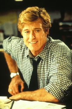 Robert Redford in Up Close and Personal