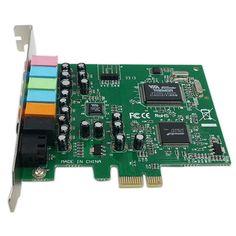 PCI Express x1 PCI-E 7.1 Channels VIA Chipset Audio Sound Card