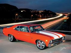 1969 chevy nova:) there it is the love of my life<3