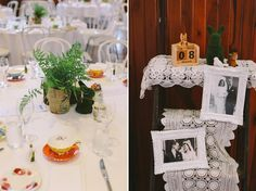 Vintage Wedding Reception - A 1950s Inspired Woodland Wedding