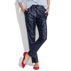 Sequin Drawstring Pants!