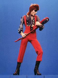 David Bowie estilo legado inspiracion moda Ziggy Stardust Rebel Rebel