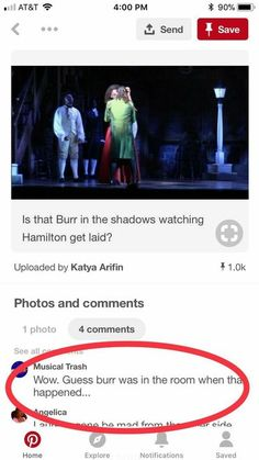 Hamilton pictures ✔ - memes Hamilton pictures ✔ - memes <br> Read memes from the story Hamilton pictures ✔ by (Leslie/Sir) with 222 reads. Alexander Hamilton, Aaron Burr, Hamilton Broadway, Hamilton Musical, Theatre Nerds, Musical Theatre, Theater, Theatre Jokes, Broadway Theatre