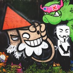 Streetart by lastplak Art Sketches, Graffiti, Doodles, Snoopy, Letters, Photos, Fictional Characters, Pictures, Art Drawings