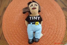 "NEW HOMIES ""TINY""  MINI PLUSH DOLL STUFFED TOY Lowrider Chicano Aztlan#Homies#Mijos"