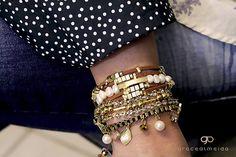 Misturinha de pulseiras Grace Almeida!www.gracealmeida.com.br/blog www.lojagracealmeida.com.br