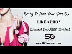Are You Ready To Hire Your Next DJ Like A Pro? Dj Like, Like A Pro, Event Planning, Let It Be, Female, Blog, Free, Blogging