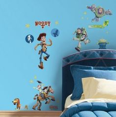 Toy Story Glow in the Dark Appliques