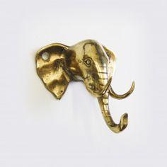 Bathroom Hooks, Elephant, Metal, Metals, Elephants