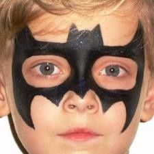 Batman (Superhero), Face Painting/Cheek Art