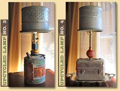 GadgetSponge.com - Repurposing, Upcycling, Birds & Nature - GadgetSponge Upcycled Lamps Are Here!