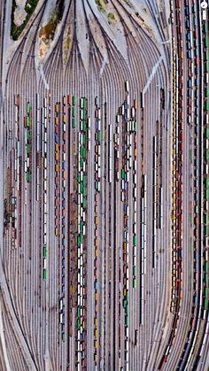 "blazepress: ""Inman Railroad Yard, Atlanta Georgia. """