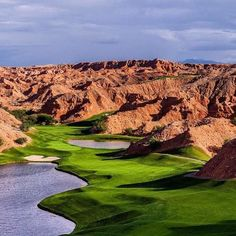Wolf Creek Golf Course, Mesquite Nevada is an absolute must if you are Las Vegas - no copyright infringements intended