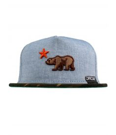 Official Cali Dolo Snapback Hat - Blue Chambray/Camo $32.50 #official