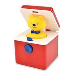Surprise little ones with ted in a box. They love now you see it now you don't games. This little Ted in a Box by Ambi is a classic much loved toy that little ones come back to again and again. Pop Up, Baby Toys, Kids Toys, Toy Playhouse, Mulberry Bush, Toys For 1 Year Old, Baby Presents, Activity Toys, Toot