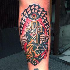 Karl Wiman as featured on www.swallowsndaggers.com #tattoo #tattoos #nautical