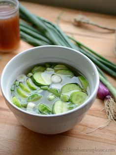 Quick Pickled Cucumbers like my grandma makes every summer from www.blessthismessplease.com
