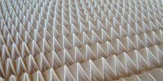 Echantillon de tissu plissé motif « Diamant » (17)
