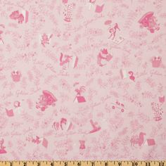 Little Golden Books fabric! Comes in lots of other colors too.