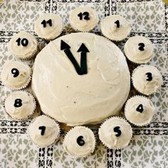 SO easy - and SO smart!!  Clock Cake.  Don't know what I would make this for but thought it was too cool not to pin.